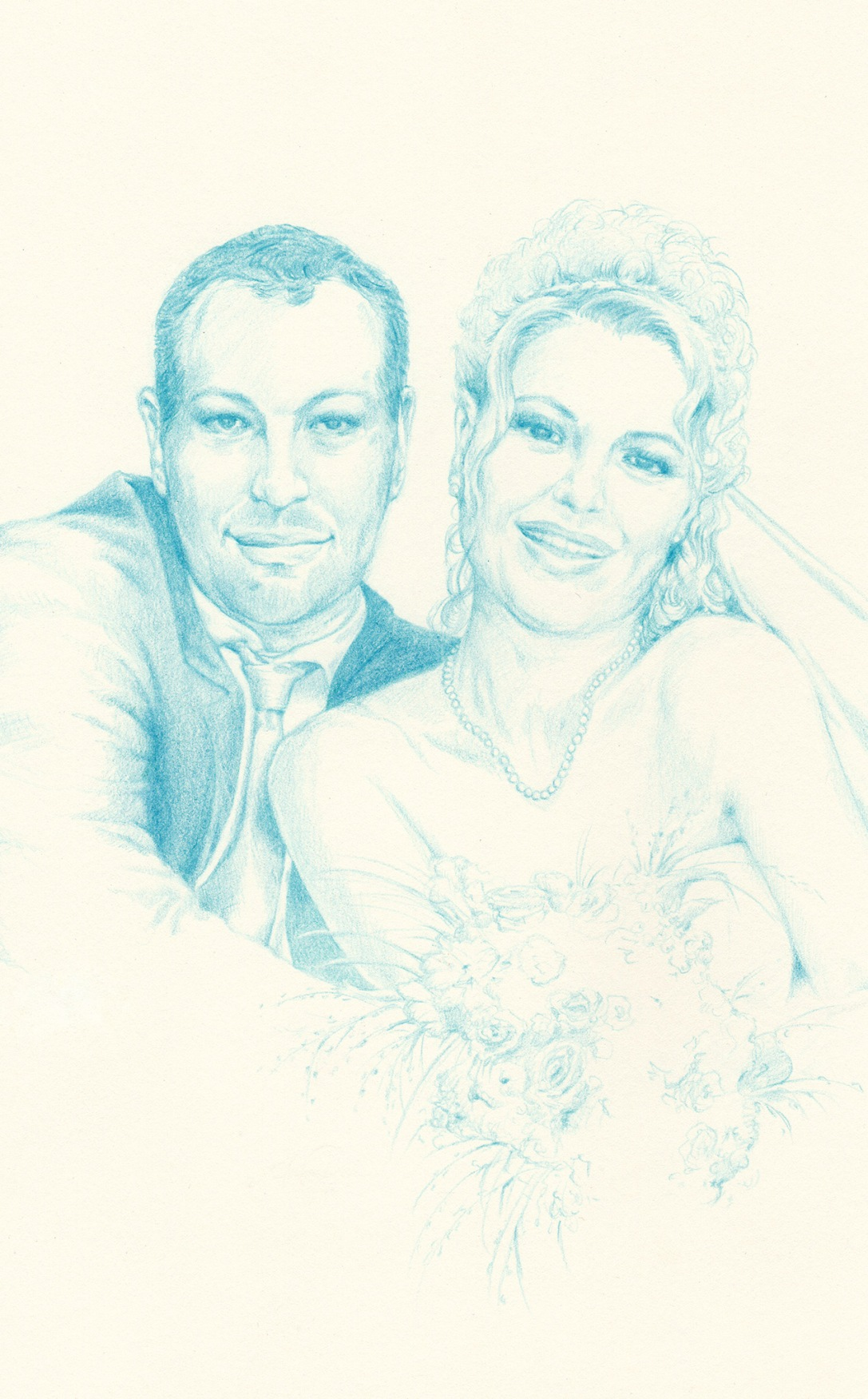 MARRIED COUPLE | pencil on paper