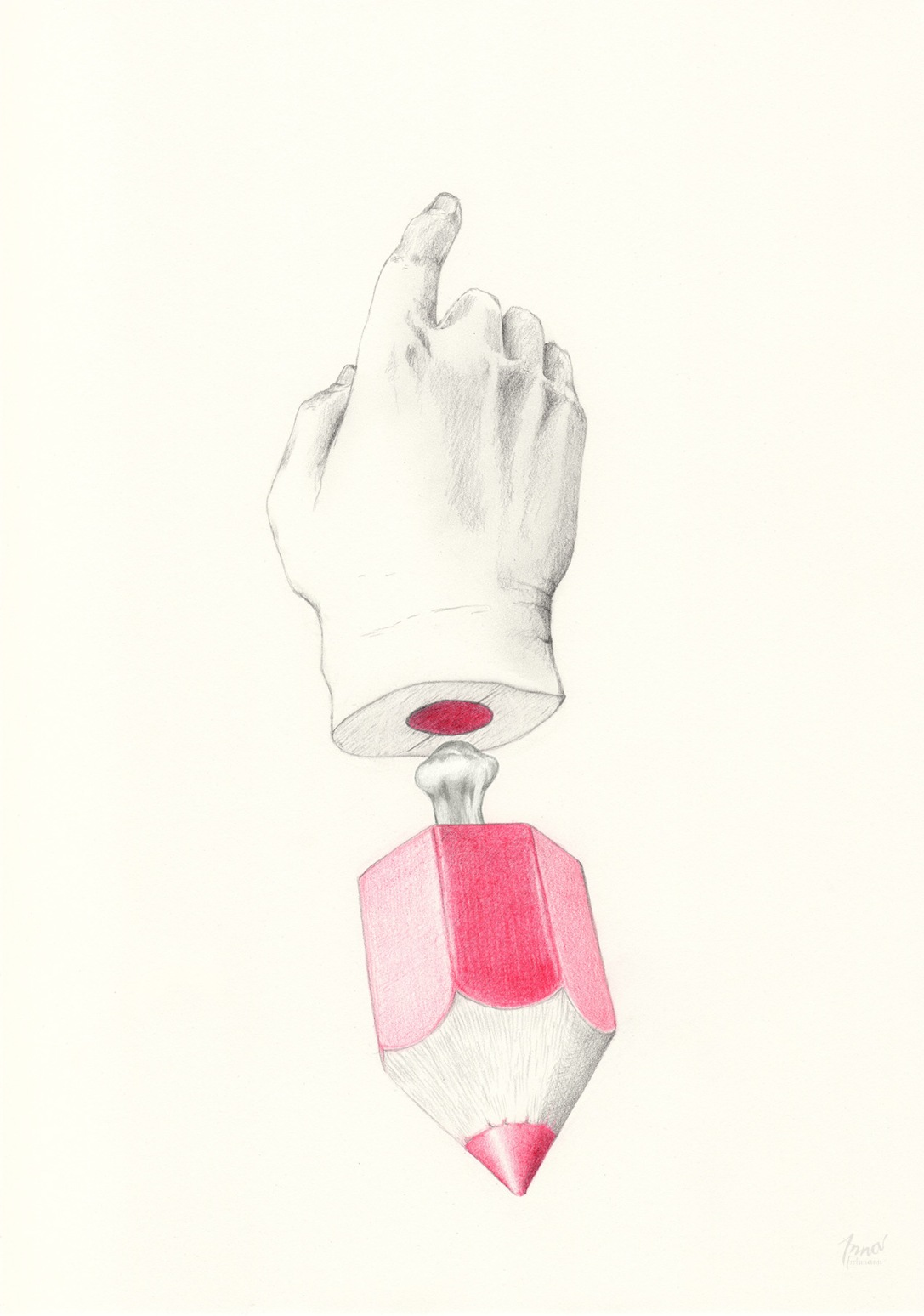 HANDY | pencil on paper