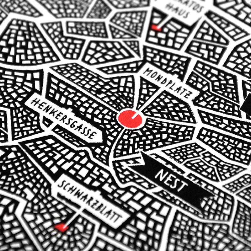"MAP OF ALAT   ""Unstern"""