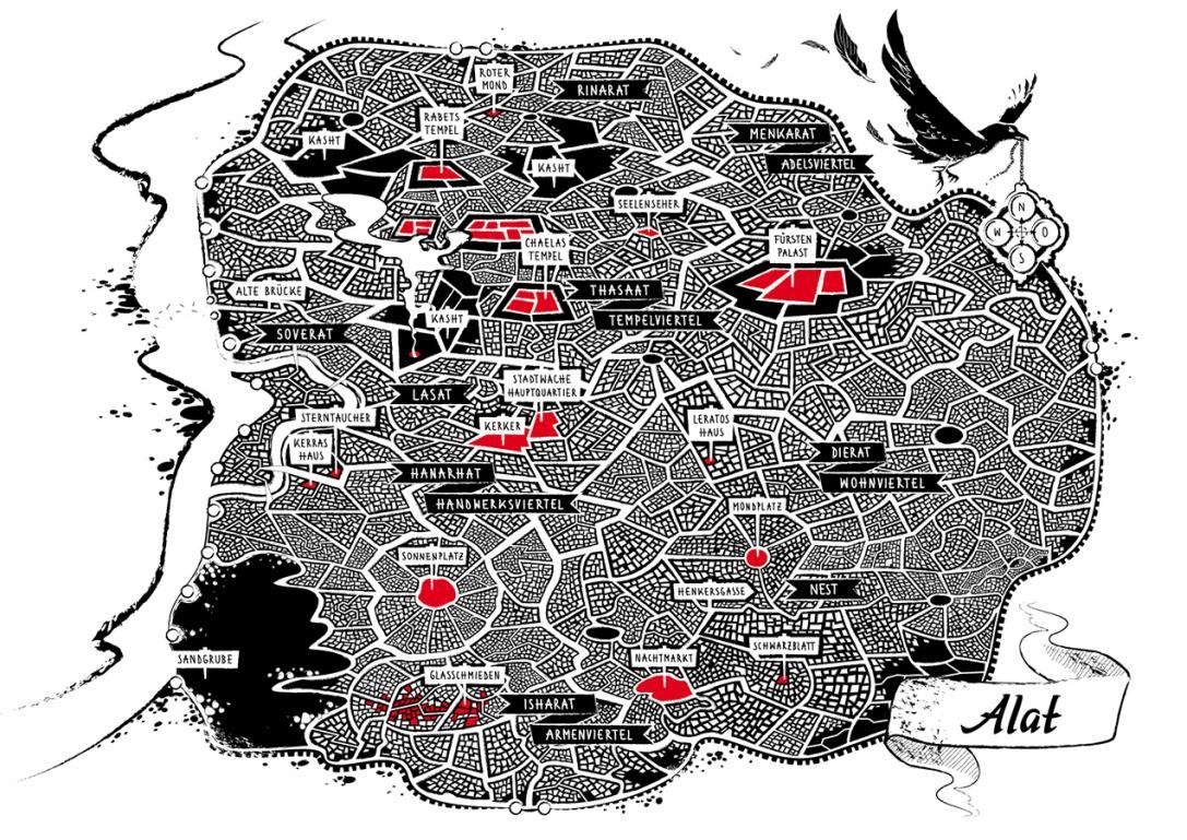 "MAP OF ALAT | ""Unstern"""
