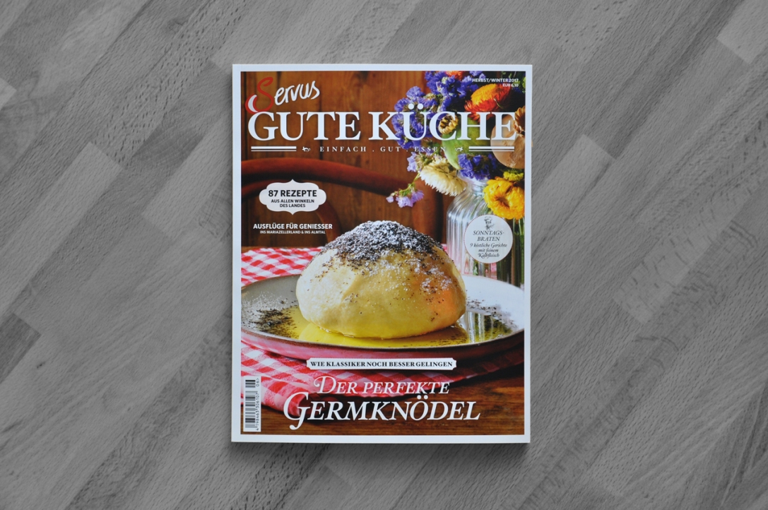 SERVUS GUTE KÜCHE Magazine