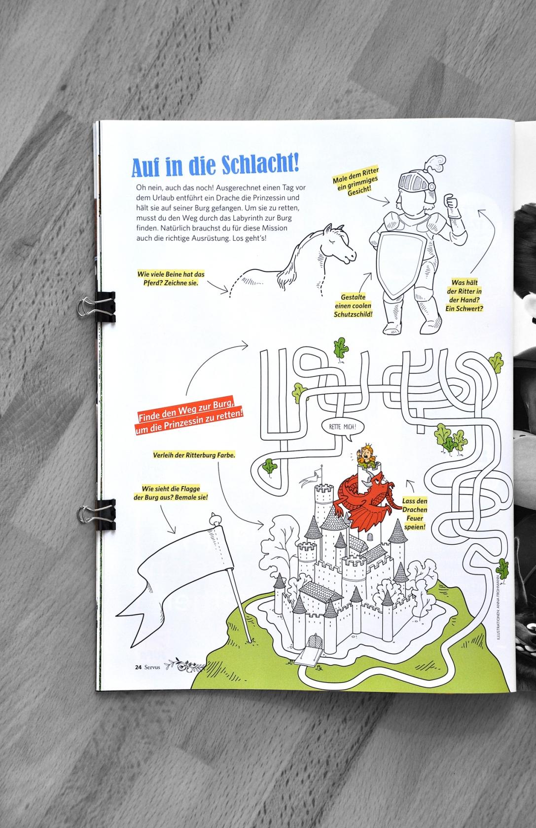 SERVUS KINDER Magazine