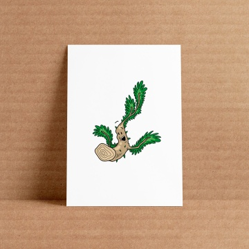 Twig character illustration